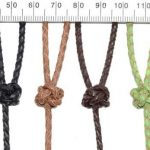 Braided Leather Lanyards