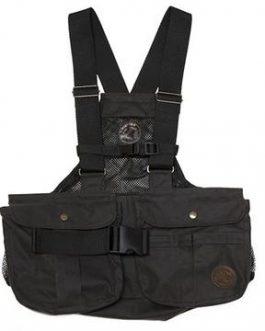 "BROWN WAXED Mystique Light Dummy Vest ""Trainer Cool"" (Net Back)"