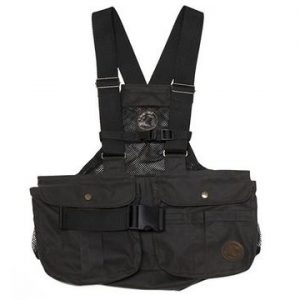 "BROWN WAXED Mystique Light Dummy Vest ""Trainer Cool"" (Net Back)"